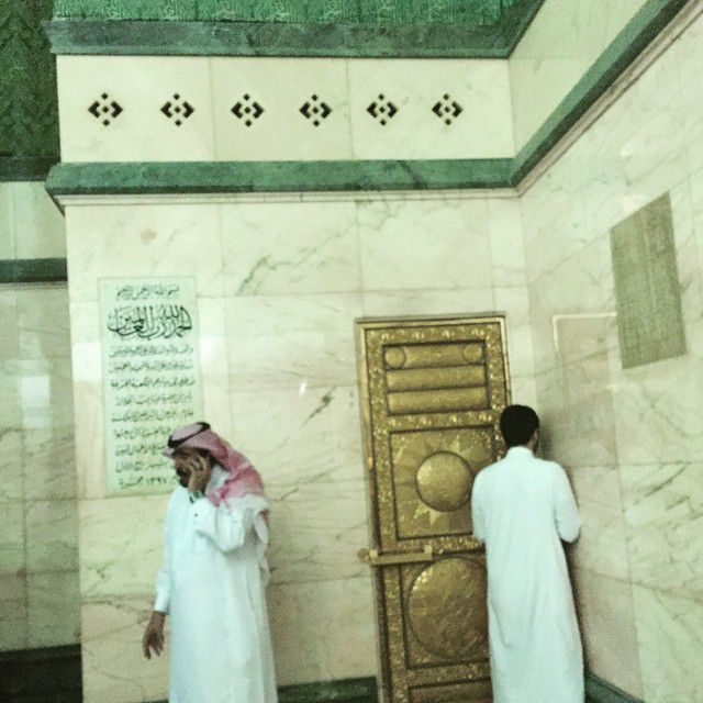 Door Inside Kaaba that leads to the Roof